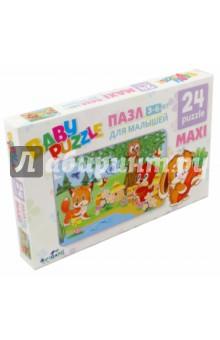 Пазл-24 maxi Лесная пасека (02987)