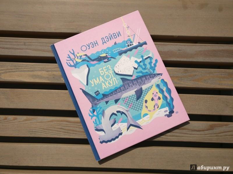 Иллюстрация 1 из 11 для Без ума от акул - Оуэн Дэйви | Лабиринт - книги. Источник: Лабиринт