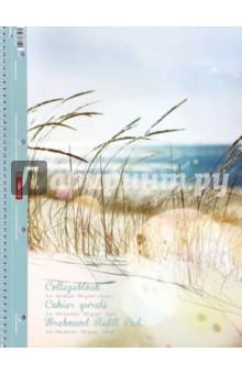 """Тетрадь общая """"Пляж"""" (80 листов, А4, линейка, на гребне) Brunnen"""