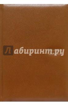 Ежедневник недатированный (кожаный коричневый) 20650U-8LG-BR (в коробке).