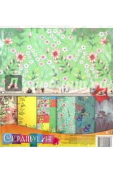 Zakazat.ru: Бумага цветная для скрапбукинга, 12 листов, 29.5x29.5 Природа (С2782-04).