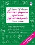 Русский язык. 1-4 классы. Быстро выучим правила