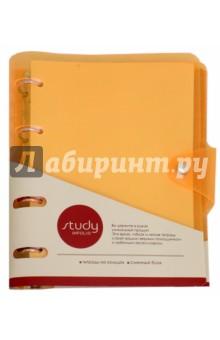 Тетрадь Neon (120 листов, на кольцах) (N857/orange) patons fab big neon orange 8279