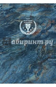 Блокнот Top Business Awards (А5, нелинованный, синий мрамор) блокнот на греческом побережье на резинке а5
