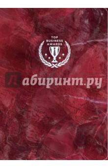 Блокнот Top Business Awards (А5, нелинованный, красный мрамор) блокнот top business awards а5 линованный