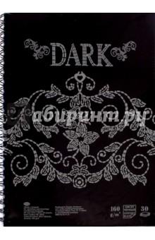 Блокнот для эскизов и зарисовок Dark. 30 листов. А4 (БЛ-8932)