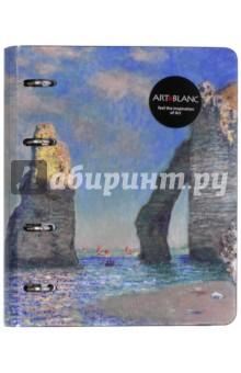 Тетрадь со сменным блоком Monet, 120 листов, на кольцах. А 5. Клетка (N700)