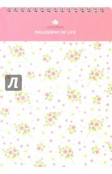 """Альбом для рисования """"Floret"""" (40 листов, спираль, А5) (N1025) Доминанта"""