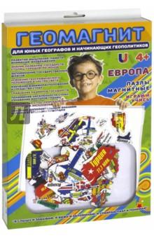 Купить Пазлы магнитные Европа (1019), Bumbaram, Игры на магнитах