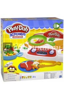 Набор PLAY-DOH Кухонная плита (B9014) hasbro play doh игровой набор из 8 баночек с 2 лет