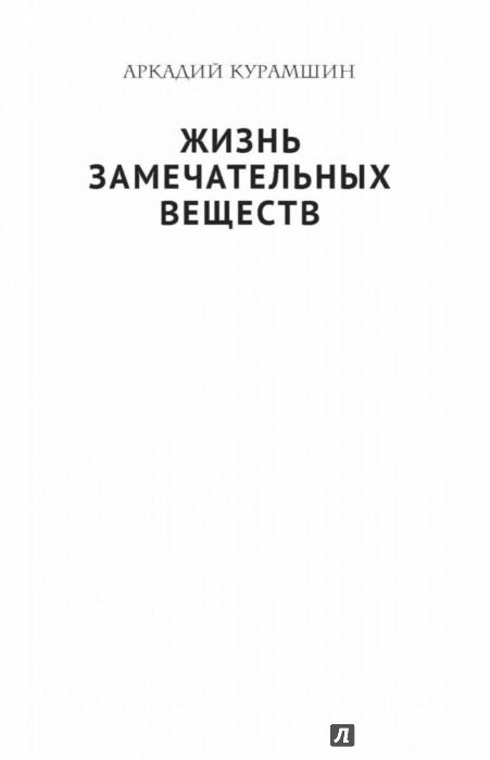 Иллюстрация 1 из 27 для Жизнь замечательных веществ - Аркадий Курамшин   Лабиринт - книги. Источник: Лабиринт