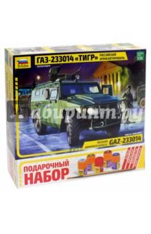 Купить Сборная модель Российский бронеавтомобиль ГАЗ-233014 Тигр , 1/35 (3668П), Звезда, Бронетехника и военные автомобили (1:35)