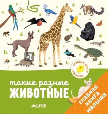 Главная книга малыша. Такие разные животные, Бессон Агнес