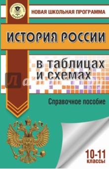 История России в таблицах и схемах. 10-11 классы. Справочные материалы