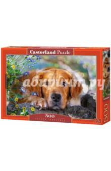 Купить Puzzle-500 Ретривер (B-52622), Castorland, Пазлы (400-600 элементов)
