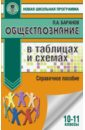 Обложка Обществознание. 10-11 классы. Справочное пособие в таблицах и схемах