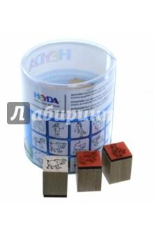 Набор штампиков Ферма (15 штук) (204888488) наборы для творчества 4м набор веселые штампики 00 04614