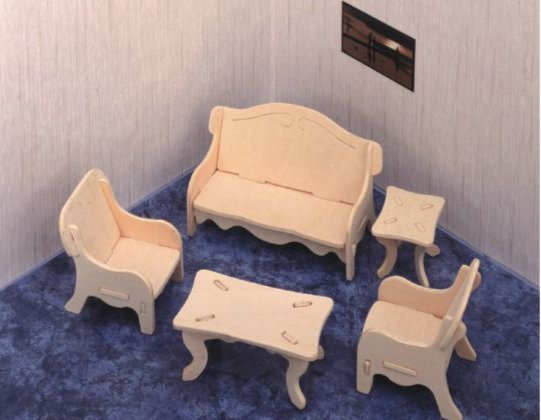Иллюстрация 1 из 14 для Мебель (P008) | Лабиринт - игрушки. Источник: Лабиринт