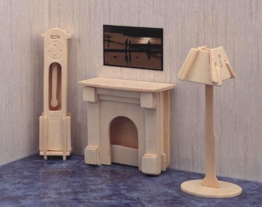 Иллюстрация 1 из 4 для Часы, лампа и камин (Р009) | Лабиринт - игрушки. Источник: Лабиринт