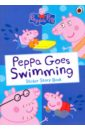 Peppa Pig: Peppa Goes Swimming (Sticker Story Book),