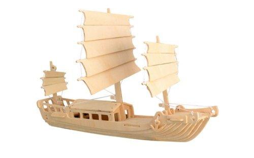 """Иллюстрация 1 из 10 для Корабль """"Джонка"""" (P045)   Лабиринт - игрушки. Источник: Лабиринт"""