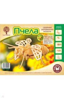 Купить Сборная деревянная модель Пчела (E030), ВГА, Сборные 3D модели из дерева неокрашенные макси