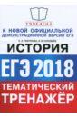 ЕГЭ 2018. История. Тематический тренажер