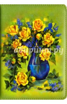 Ежедневник недатированный Желтые розы (96 листов, А6+) (45395) ежедневник арвэй групп а6 115 165 208стр ide ox ручка фуксия 692254