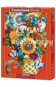 Puzzle-1500 Живопись. Цветы (C-151585 ) puzzle 1500 лондон c 151271