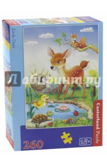 Puzzle-260 Бэмби (В-26524) пазлы crystal puzzle 3d головоломка вулкан 40 деталей