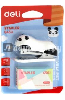 """Комплект """"Панда"""" (степлер + скобы, N10, 12 листов) (E0453)"""