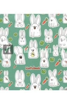 Книга для записей 120 листов, А5-, Веселые кролики (ЕТИ5120126) минипечь gefest пгэ 120 пгэ 120