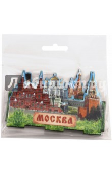 Настольный сувенир трехслойный Москва, Кремль, бояре