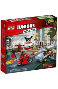 Конструктор LEGO Juniors. Нападение акулы (10739) lego juniors 10739 лего джуниорс ниндзяго нападение акулы