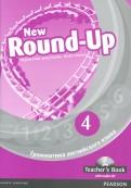 New Round-Up. 4. Грамматика английского языка. Teacher's Book (+CD)