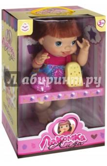 Кукла с мороженым: 2 штуки, с каре (Т10376) 1toy 1toy кукла лакомка лиза с мороженым красноволосая с хвостиками 36 см