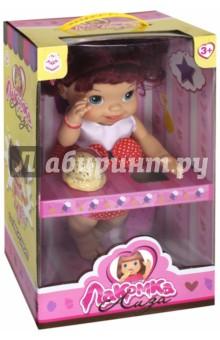Кукла с мороженым: 2 штуки, красноволосая (Т10378) 1toy 1toy кукла лакомка лиза с мороженым красноволосая с хвостиками 36 см