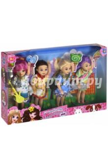 "Игровой набор из 4-х кукол ""Красотка mini"" (Т10175)"