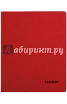 Тетрадь 80 листов, А4, мягкая, КРАСНЫЙ+ЧЕРНЫЙ СРЕЗ, (45361)