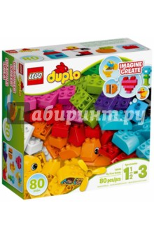 Конструктор DUPLO. Мои первые кубики (10848)