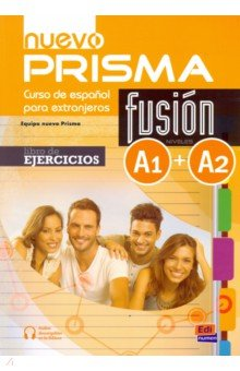 Nuevo Prisma Fusion. Niveles A1 + A2. Libro de ejercicios (+CD) silla de director plegable de madera con bolsas para maquillaje pelicula studio hw46460