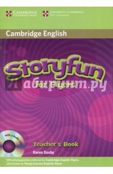 Storyfun for Flyers Teacher's Book with Audio CDs (2) touchstone level 2 class audio cds аудиокурс на 4 cd
