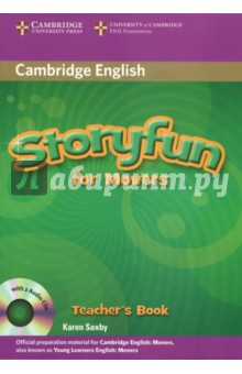 Storyfun for Movers Teacher's Book with Audio CDs (2) touchstone level 2 class audio cds аудиокурс на 4 cd