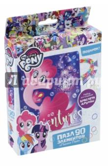 Пазл My little pony. Пинки Пай (90 элементов) (03409) мозаики multiart набор для творчества объемная мозаика my little pony