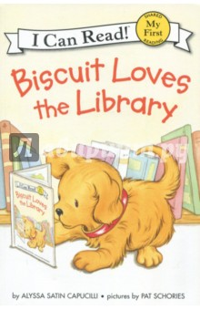 Biscuit Loves the Library. My First. Shared Reading dog biscuit