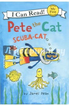 Pete the Cat. Scuba-Cat. My First. Shared Reading penguin active reading easystarts the blue cat club book