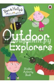 Outdoor Explorers. Sticker Activity Book topsy and tim first numbers sticker activity book наклейки