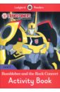Обложка Transformers: Bumblebee and the Rock Concert Activity Book. Level 3