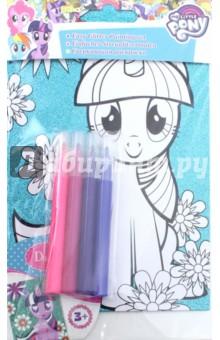 Купить Сверкающая раскраска My little pony. Сумеречная Искорка (66784), D&M, Создаем и раскрашиваем картину