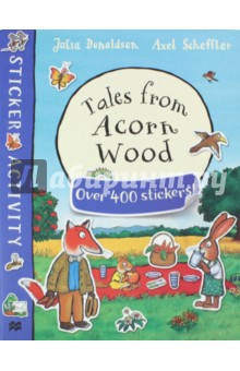 Tales from Acorn Wood Sticker Book аксессуар защитное стекло samsung galaxy a3 2017 sm a320f a3200 ainy full screen cover 0 33mm gold